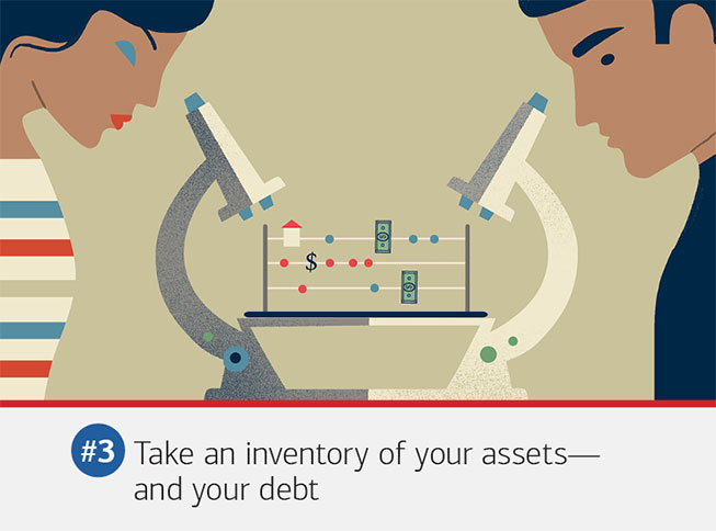 #3 Take an inventory of your assets - and your debt