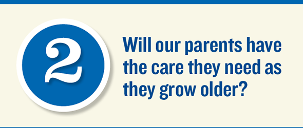 (Slide  2) Will our parents have the care they need as they grow older