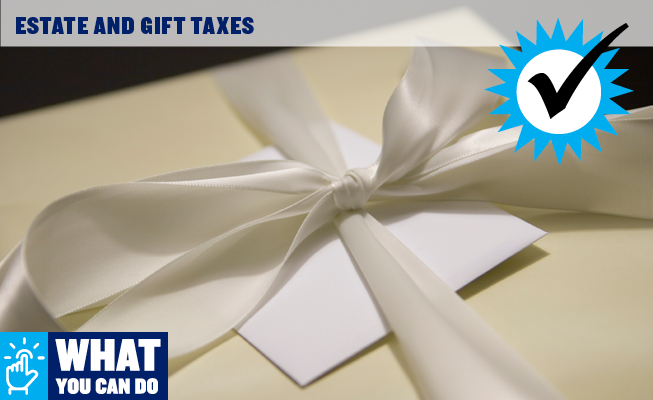 Estate and Gift Taxes
