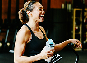 Article Image - Woman at gym