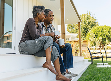 Article Image - Couple sitting on the back porch